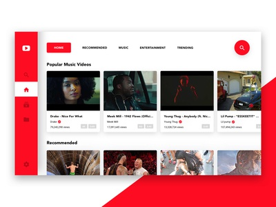 YouTube TV App Redsign