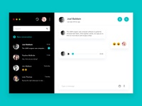 Daily UI challenge #013 - Direct Messaging