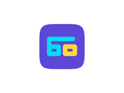 60 - Icon Design numbers 60 colourful appicon ux ui icon