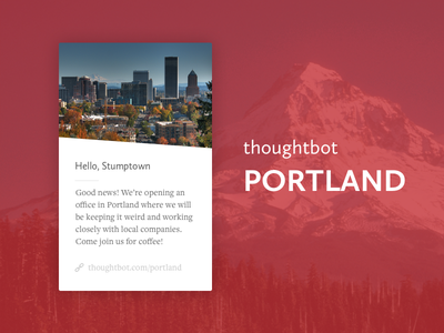thoughtbot Portland portland card location overlay