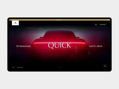 Porsche Taycan longread design innovation ui interaction website animation electronic taycan portfolio cars automotive porsche
