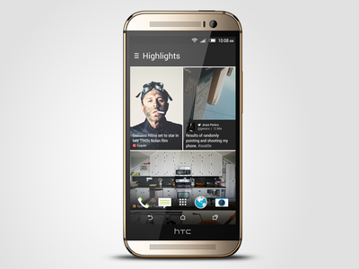 HTC BlinkFeed for Sense 6 htc blinkfeed htc one m8 sense sense 6 ui ux feed content news