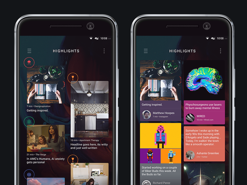 Blinkfeed concepts s8