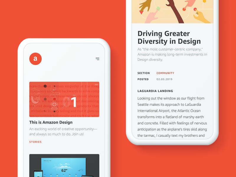 Announcing amazon.design