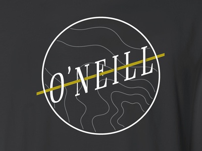 Oneill Logo logo lettering oneill surf surfing serif type typography