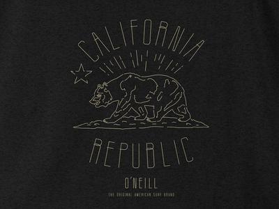 Prospector T Shirt tee california shirt oneill surfing