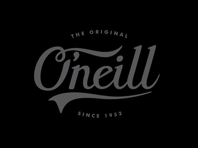 O'Neill Lettering