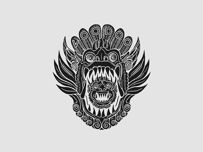 Icons & Myths tee t-shirt barong bali