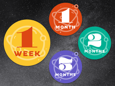 Milestone Stickers stickers outer space space baby milestone stickers milestone