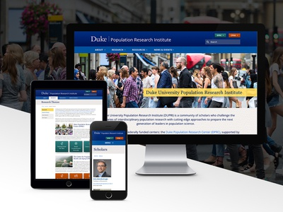 Duke Population Research Institute site