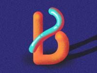'B' Letter