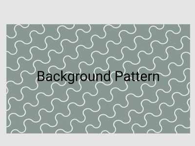 Daily UI 59: Background Pattern