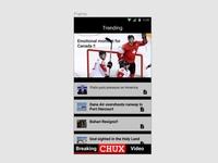 Daily UI 069: Trending