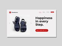 Shoelancer Landing Page  800x600