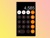 Iphone Calculator Screen