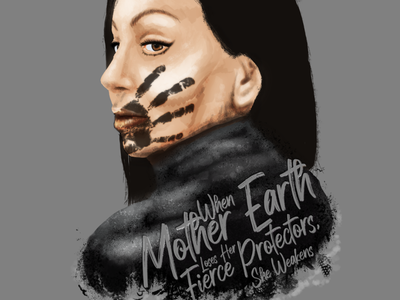 #MMIW anishinaabe illustration photoshop digital activism mmiwg mmiw