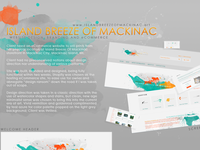 Island Breeze Of Mackinac Web Design
