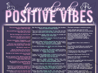 Positive Vibes Chart
