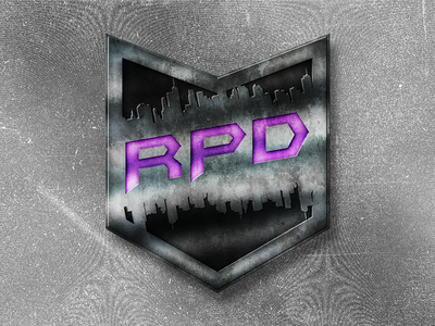 Cyberpunk Twitch Streaming Badge