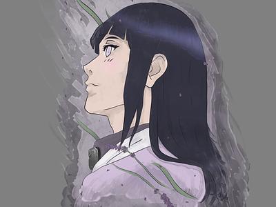 Hinata Hyuga, March, Lavender