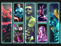 Neon Grunge Collection