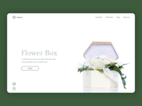 Flower Box. Website for creating individual flower boxes