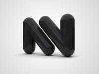 NoVolume Logo 3D
