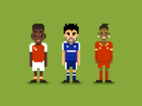 Pixel Footballers