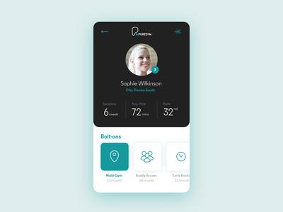 Profile UI