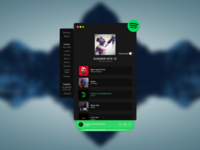 Spotify Homescreen