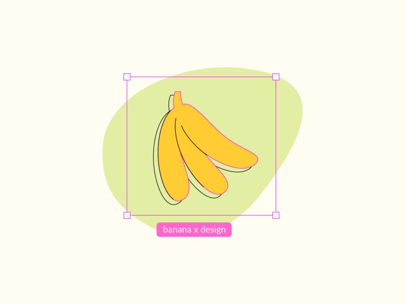 design - kiwi design studio banana design process illustration design