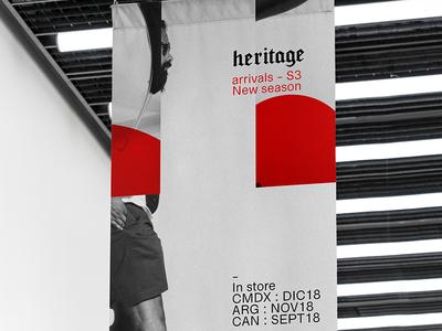 Heritage id print branding