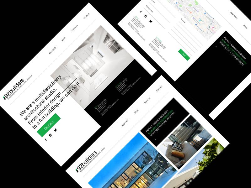 92builders - branding Refresh 2019 web  design ui branding