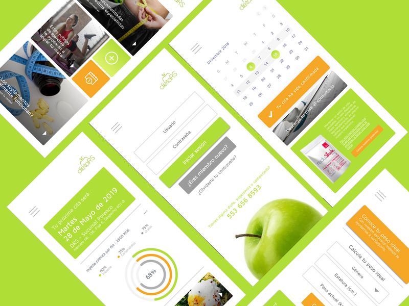 Dieta Reduce System - APP Build branding app branding ui