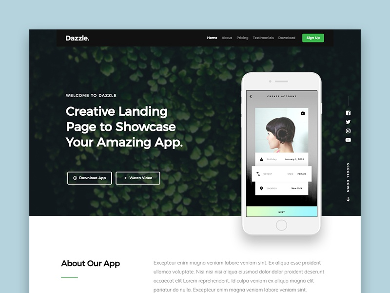html page design tool free download