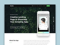 Dazzle Free HTML Website Template