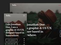 Hola Free HTML Website Template