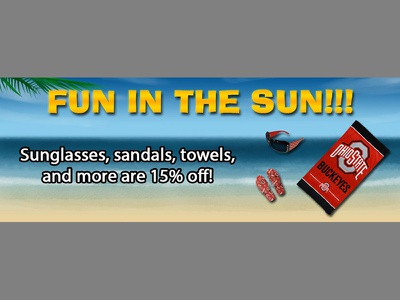Beach Items Weekly Special image editing special weekly adobe photoshop illustration website online banner