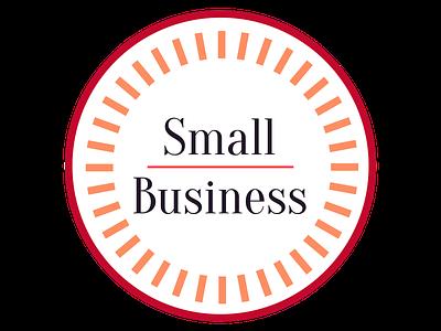Small Business Web Badge small business web badge line minimal design