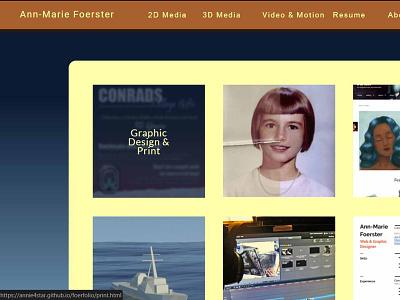 New Portfolio Site - Home Page portfolio website portfolio site visual studio css html css html web designer web design