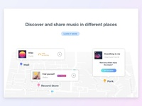 Landing Page - Music Apps Official Website