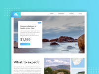 Travell Landing Page