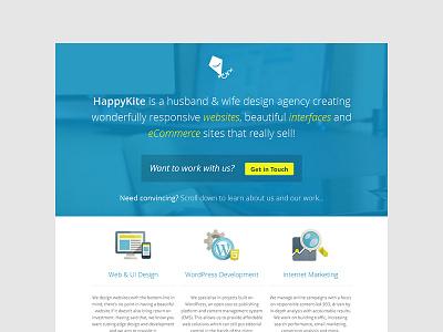 Happykite 2013 happykite portfolio blue yellow