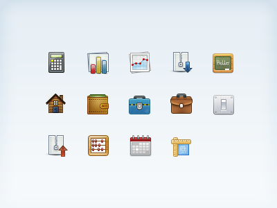 Icons Set Growing... 32px icons learning