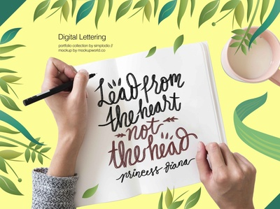 Quotes on Lettering