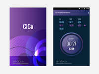 Time reporting app