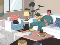 为了在家「宅」得更舒服,你都尝试过哪些「姿势」?