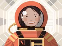 爱范儿宇航员·女宇航员