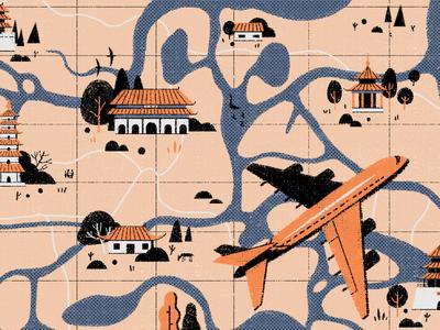 地图,旅行,时间机器