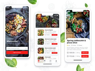 Food Catering App Concept app ui design colors food catering food delivery app food app app concept cafe app cafe restaurant branding restaurant app restaurant